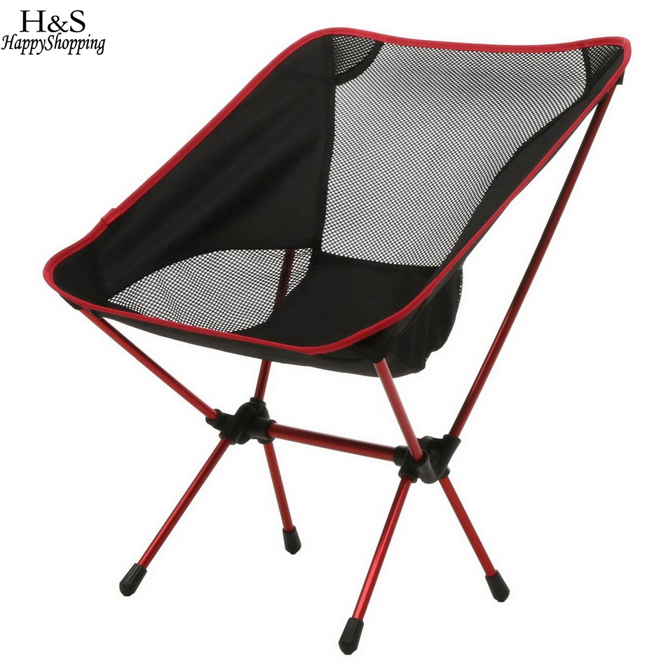 Portable Folding Fishing Chair Seat With Carry Bag For