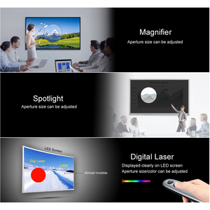 Image 5 - AVATTO H100 Spotlight Wireless Presenter Remote with Air Mouse,TF card, PPT Powerpoint Laser Pointer Presentation for Meeting