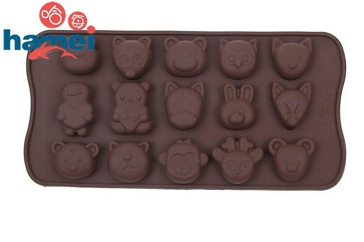 1x Silikon Eisform Candy Schokolade Kuchen Cookie Cupcake Seife Form Werkzeug