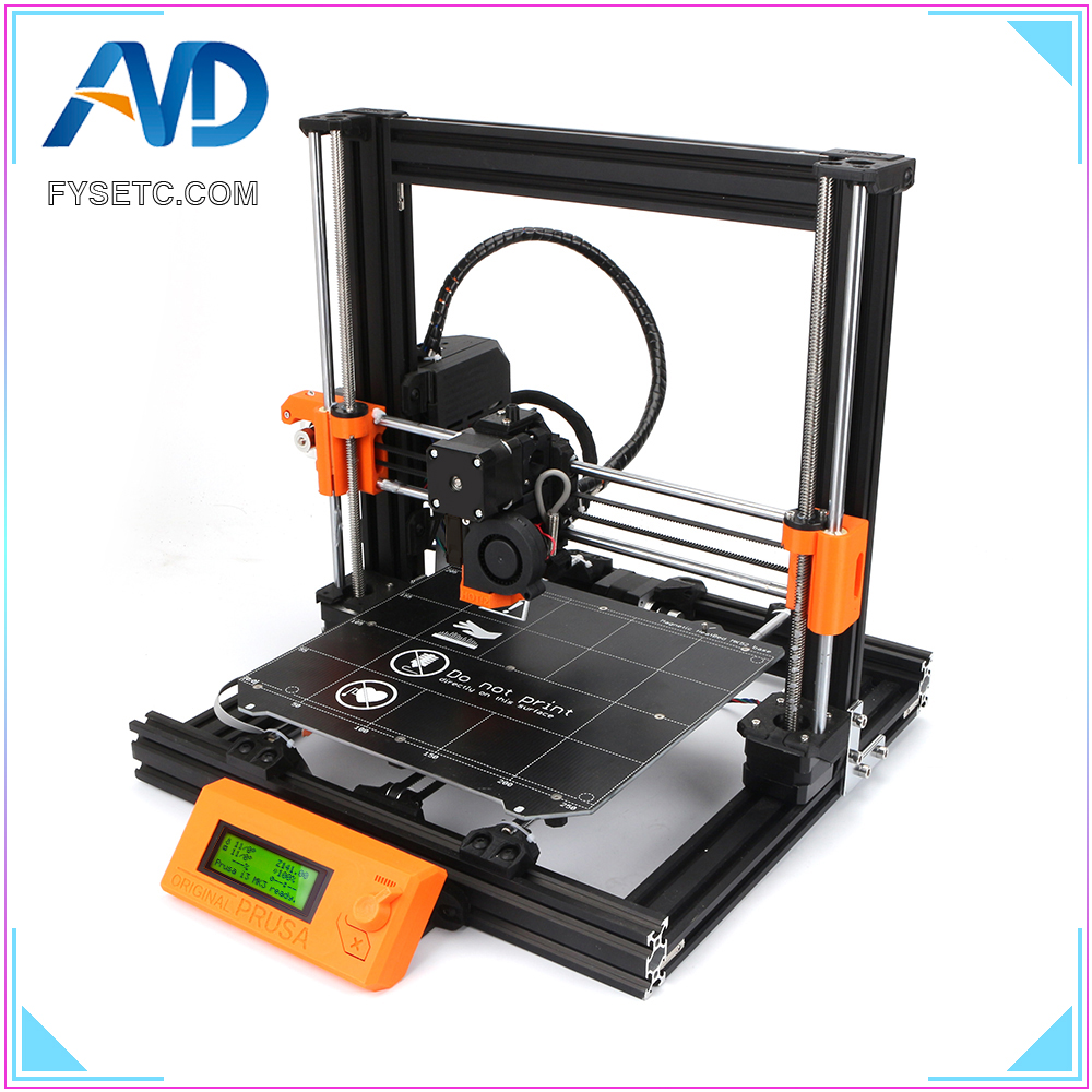 Clone Prusa i3 MK3S Printer Full Kit Prusa i3 MK3S DIY Bear 3D Printer Including Einsy-Rambo Board