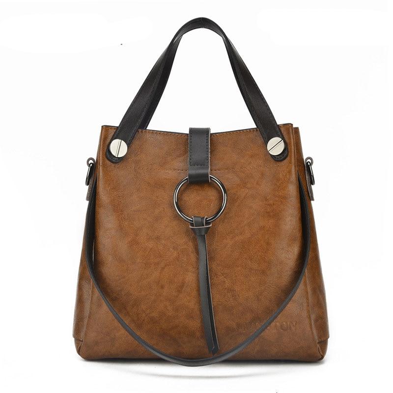 e8e5e42178 Pu Leather Bags Women Handbags Brands Large Capacity Women Crossbody Bag  Trunk Totes Designer Shoulder Bag Ladies Bolsos Mujer-in Top-Handle Bags  from ...