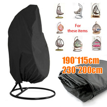 Swing Chair Dust Covers Rattan Cover Dustproof Waterproof UV Protection Universal Cover Polyester Outdoor Furniture Set цена 2017