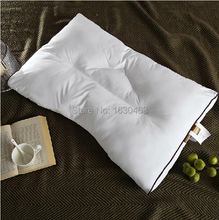 100% Cotton Microfiber Pillow Fiber Pillow  Neck Health Care U Shaped Pillow For Home and Hotel 48*70+5.5cm
