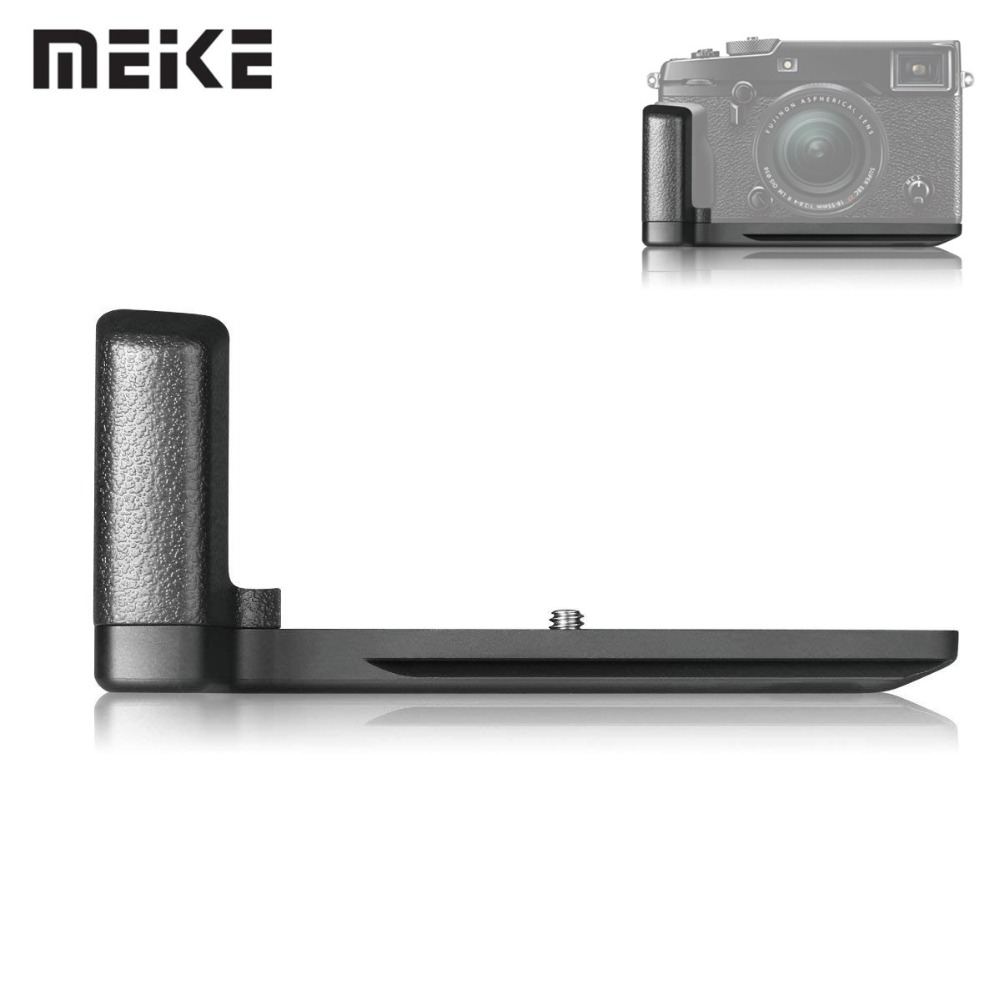 Meike MK-XPro2G Handle Metal Hand Grip MHG-XPRO2 Replacement For Fujifilm X-Pro2 Mirrorless DSRL Camera With 1/4 Tripod ScrewMeike MK-XPro2G Handle Metal Hand Grip MHG-XPRO2 Replacement For Fujifilm X-Pro2 Mirrorless DSRL Camera With 1/4 Tripod Screw