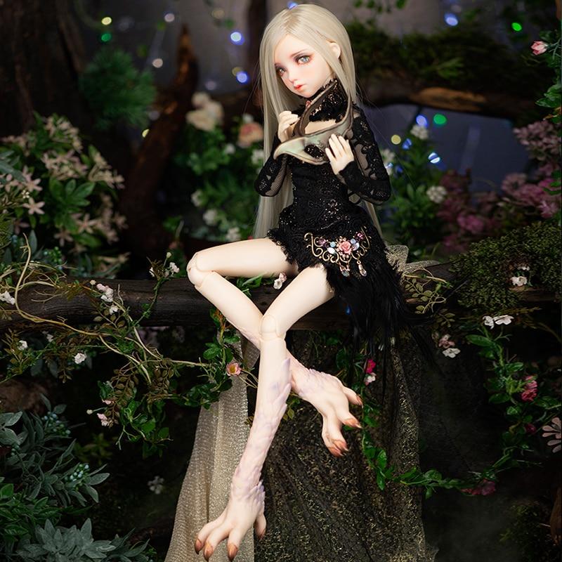 Nouveauté BJD poupée Minifee Rens 1/4 héroïne Swordswoman impératrice d'épée Figure Flexible jouet féminin pour fille Fairyland FL - 5