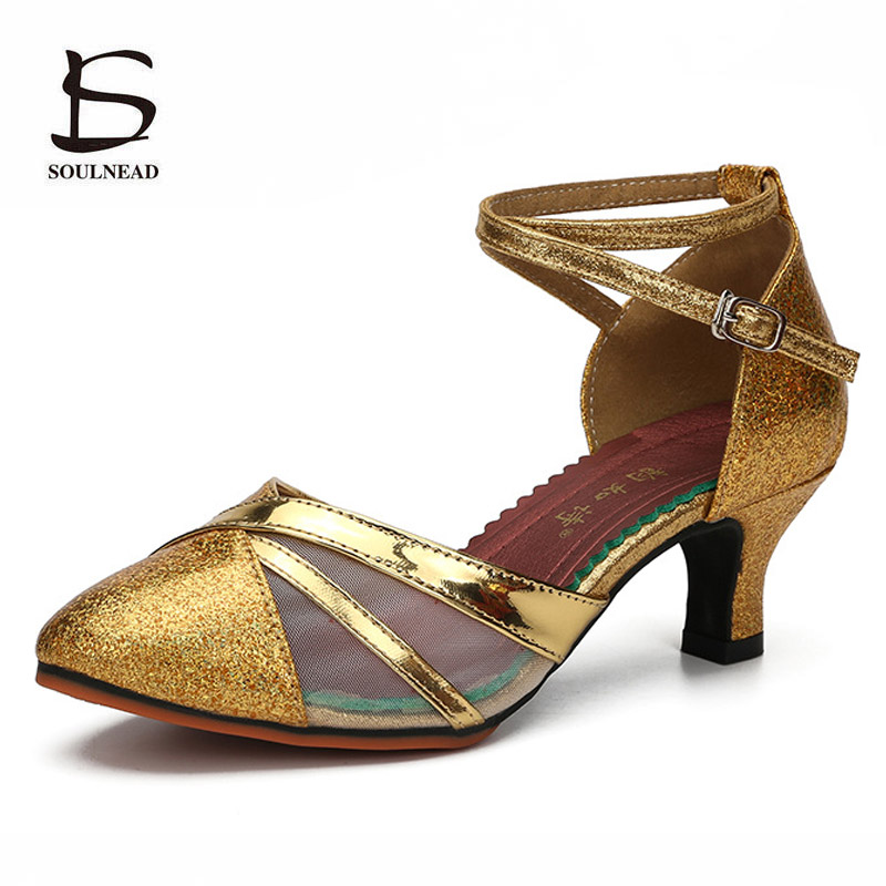 Ballroom Performance Dance Shoes For Woman/girls/ladies Closed Toe Latin/modern/tango Dancing Shoes Summer Women Heels Sandals Home