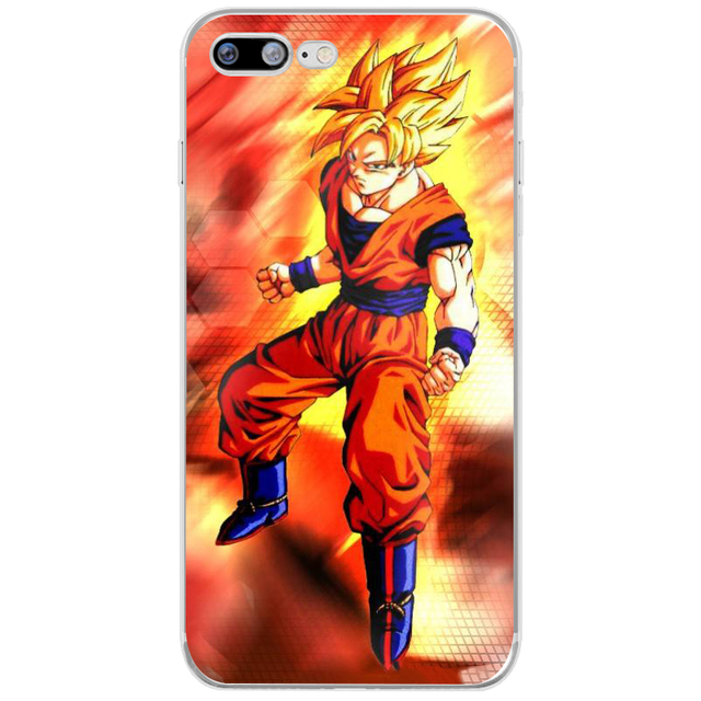 Dragon Ball z goku TPU Case Cover For iphone Models