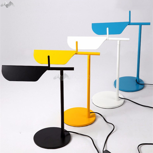 Élégant Moderne Bureau Lampe LED Travail Moderne 4 Couleurs Lampe de ...