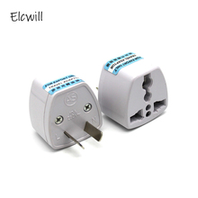 Universal 2Pin AU NZ Power Plug Adapter 2 pin New Zealand Australia Travel US/UK/EU to AU/NZ Converter