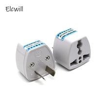 Universal 2Pin AU NZ Power Plug Adapter 2 pin New Zealand Australia Travel Plug US/UK/EU to AU/NZ Plug Converter coolm au plug