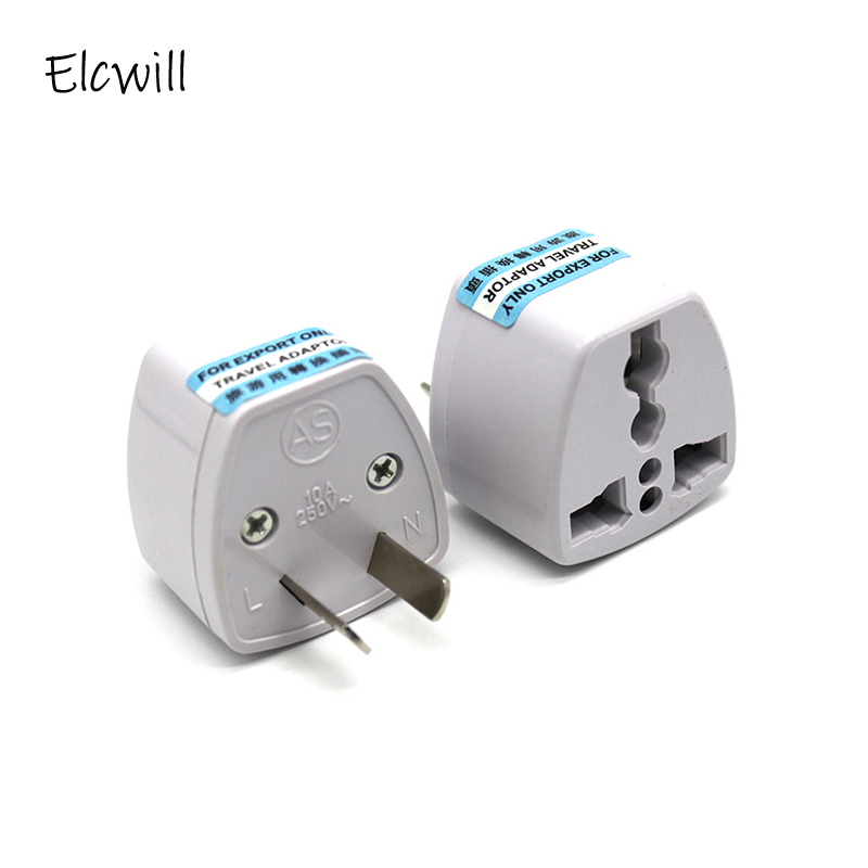 Universal 2Pin AU NZ Power Plug Adapter 2 pin New Zealand Australia Travel Plug US/UK/EU to AU/NZ Plug Converter image