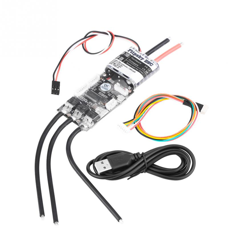 hot sale 50a electronic speed controller 3 13s esc for electric skateboard rc accessory high