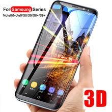 Vidro De proteção Sobre O Para Samsung Galaxy S8 S9 Além de verre trempe Nota 8 9 S6 S7 Borda S10 Lite proteger Glas S9Plus vers 7 9 8 S S S