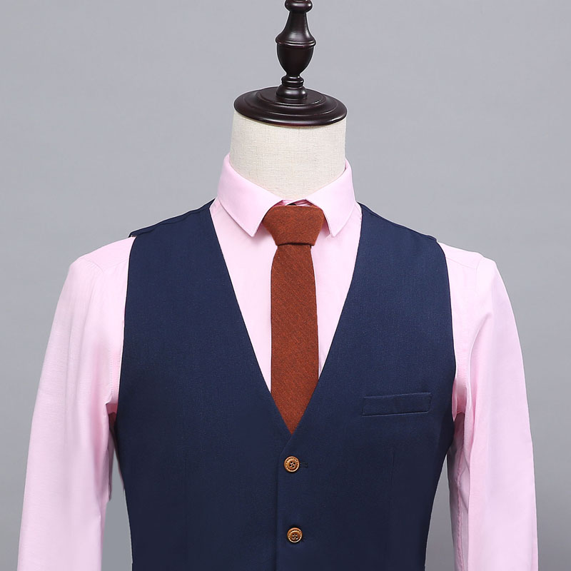 2016 пользовательские сделал простой стиль классический лучший мужчина жилет мод жилет 4 функции 3 карман жених бизнес партия жилет