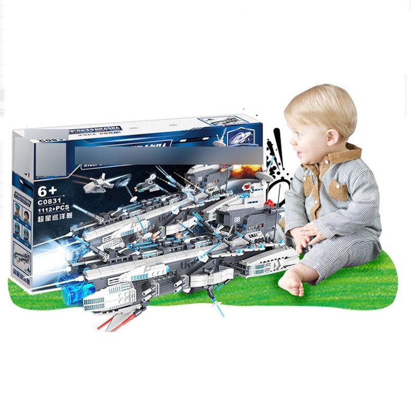 Star Wars Série C0831 Navire de Guerre Starship Blocs de Construction Brique Spécial Police Éducatifs Enfants Assemblée Jouet Cadeau