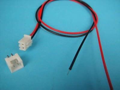 2-контактный M+ F проводной Панель Батарея разъем JC2 1000 шт