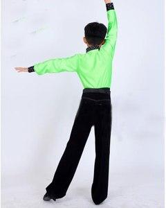 Image 4 - الطفل الأطفال الصبي الطبقة المدرسة لصبي تشا تشا اللاتينية الرقص ازياء ازياء مجموعات طفل رضيع اللاتينية المنافسة اللاتينية للأولاد