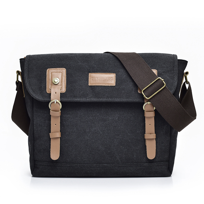 2018 New Arrival Large Casual Travel Shoulder Bags for Men Leather Vintage Crossbody Bags High Quality Business Messenger Bag new arrival genuine leather bag men bag casual travel bag men s briefcase vintage men shoulder messenger bags brown p112811 3