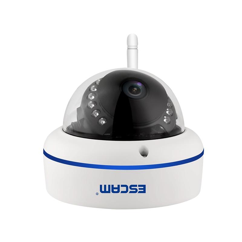 ESCAM 2MP WiFi caméra IP HD 1080 P caméra de Surveillance Onvif IP66 sécurité CCTV réseau caméra Vision nocturne détection de mouvement