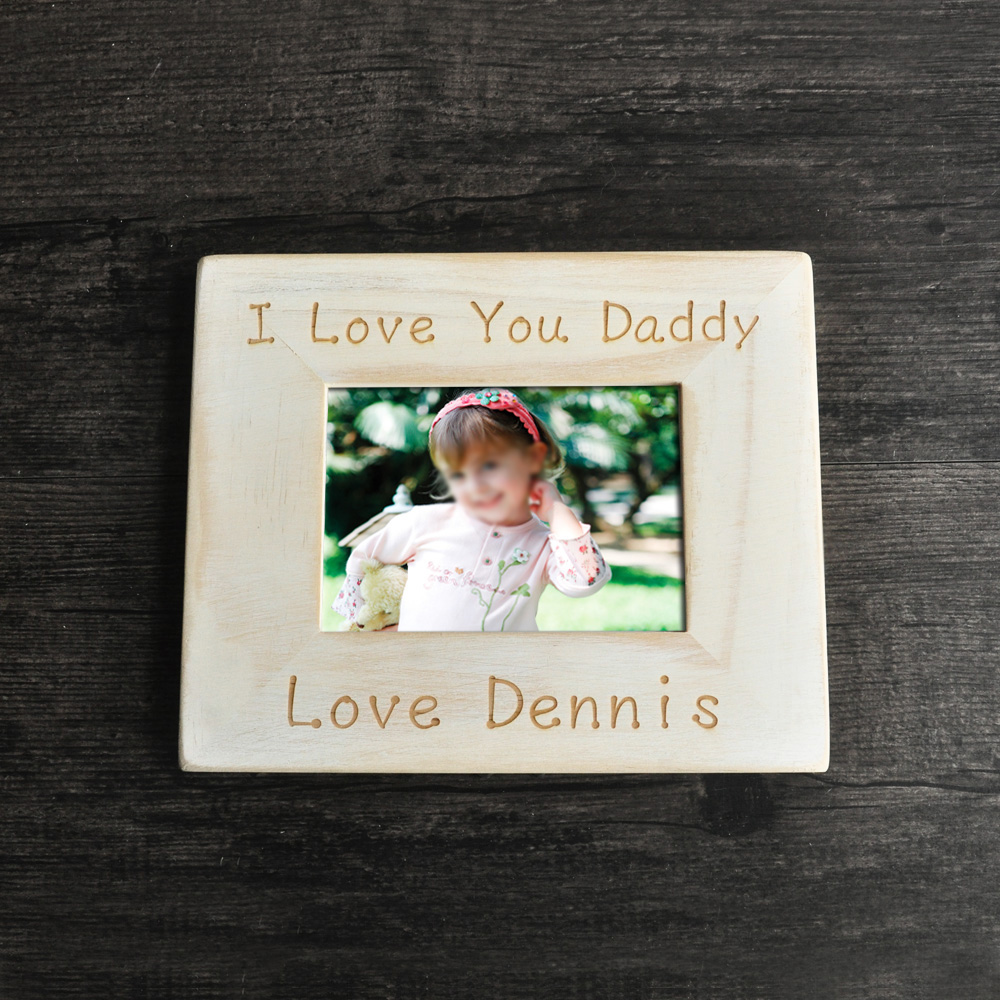 Father Picture Frame, Custom Picture Frame , Wood Frame,Father\'s Day ...