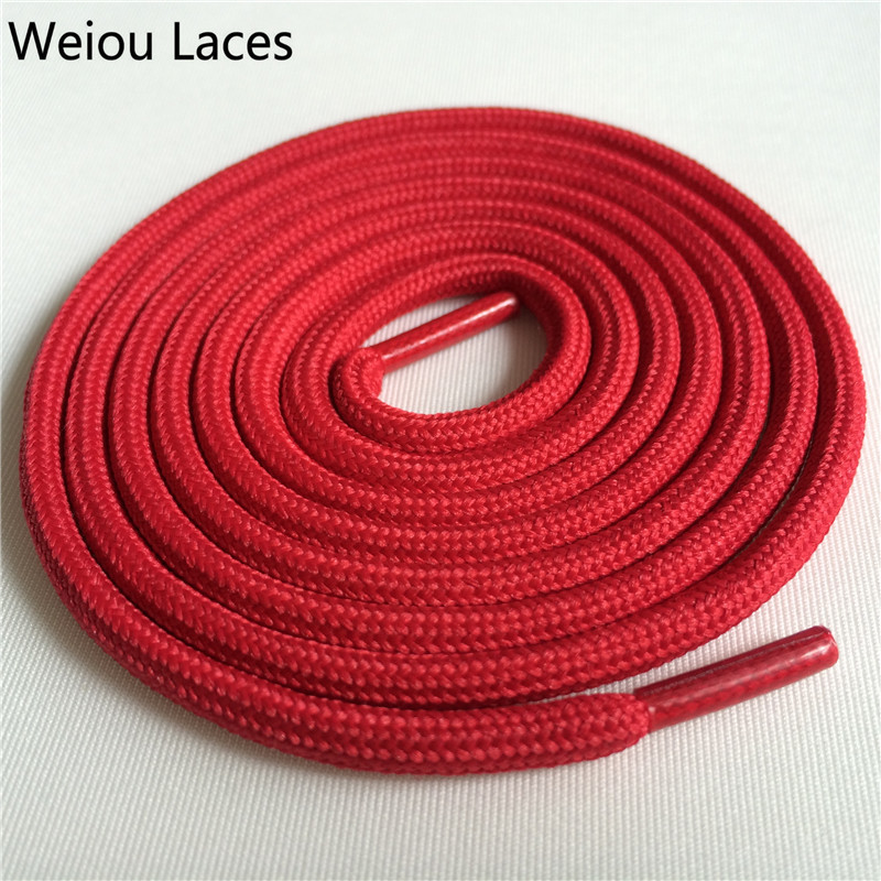 Weiou outdoor 4 5mm Hiking Boot Laces Polyester Rope Lacing Sports Running Shoestring Color Shoelaces For Basketball Shoes 350 in Shoelaces from Shoes