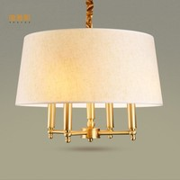 LUZES DE NATAL Chandelier American Style Chandelier Lighting Led Lights For Home E14 Lustre