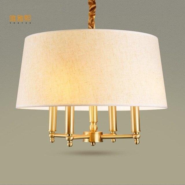 Veayas De Cuivre De Luxe Lampe Moderne Lumiere Lustres Design Pour