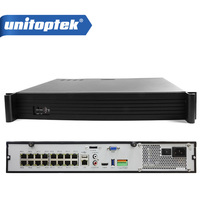 16CH 1.5U Obudowa 2.0MP/9CH NVR Z 16 Port POE 5MP Mocy Dla 3MP/1080 P POE IP Kamera Video Recorder CMS Software Onvif P2P Widok
