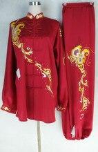Customize Chinese Tai chi uniform kungfu clothing Martial arts suit taiji outfit garment for men women children girl boy kids