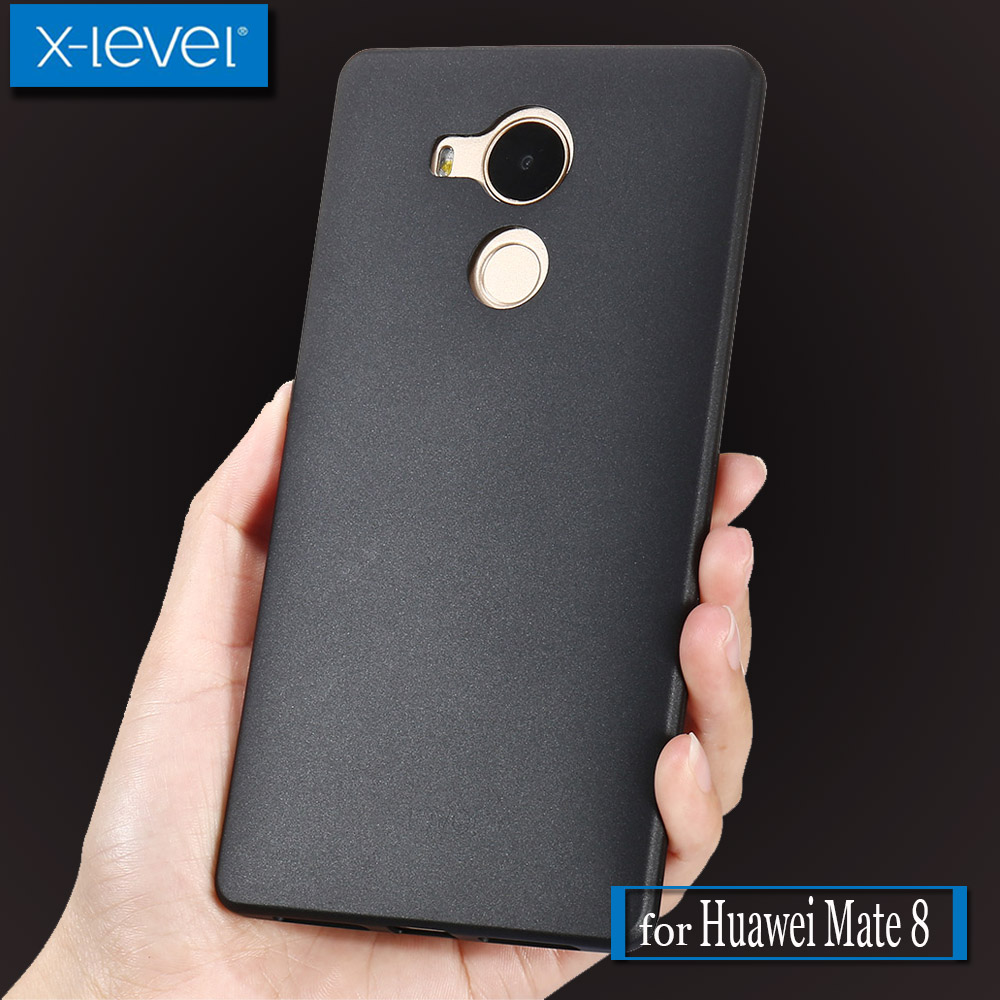 Huawei Mate 8 Case X-Level Guardian Ultra Thin Matte Soft Silicone Full Covered TPU Phone Protective Cover for Huawei Mate 8