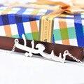 925 Sólida pulseira de Prata Personalizado Nome Árabe Colar da placa de Identificação Personalizado Pendente Jóias Classy