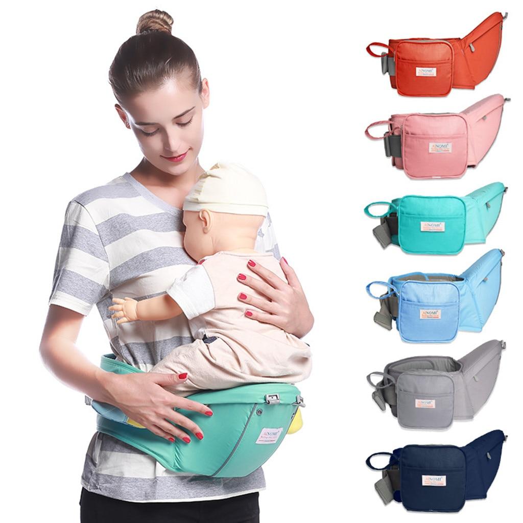 High Quality Baby Carrier Waist Stool Walker Baby Sling Hold Waist Belt Backpack Hipseat Belt Infant Hip Seat Poppen Draagzak@30