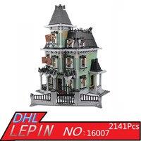 Neue LEPIN 16007 2141 Stücke Monster kämpfer Die spukhaus Modell set Bausätze Modell Kompatibel Mit 10228