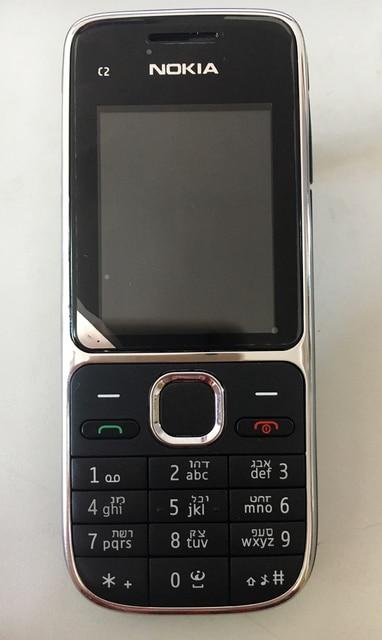 Original Nokia C2 C2-01 Unlocked Mobile Phone Refurbished C2 Cellphones