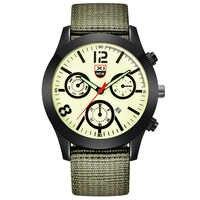 Relojes baratos para hombre, correa de nailon, reloj de pulsera analógico de cuarzo para hombre, reloj de pulsera, reloj