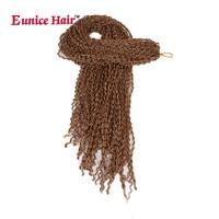 Eunice long Crochet Box Braids Hair 28 inch Synthetic Kanekalon brown/black/99j Braiding Fiber Hair Extensions Black Burgundy
