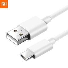 מקורי שיאו mi USB סוג C מטען כבל 100 cm 5 V 1A תשלום מהיר קו נתונים עבור mi mi x2 Max2 mi 6 5S 5X