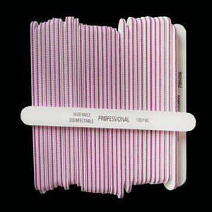Image 3 - Limas profesionales para manicura, 50 unidades, 100/180