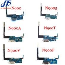10 adet/grup Samsung galaxy Not 3 N900 N9005 N900A N900T N900V N900P şarj şarj bağlayıcı usb dock bağlantı noktası flex kablo
