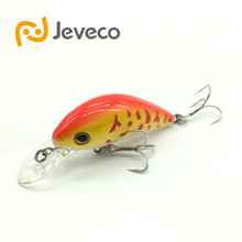Jeveco JVC014 fishing lures swimbait crankbaits 50mm 7g 0 1 2m floating assorted Fake Lure fishing