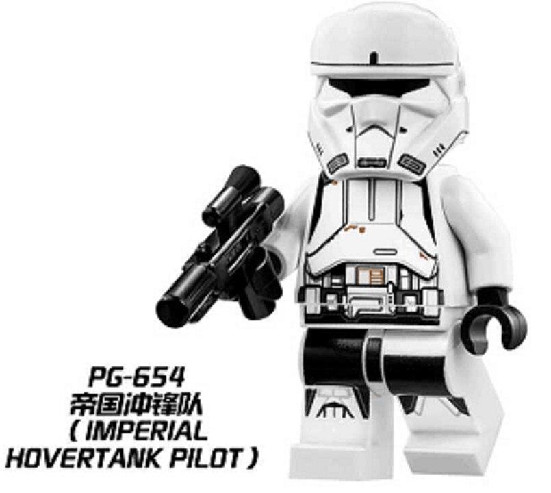 Building Blocks Super Heroes Imperial Hovertank Pilot Star Wars Bricks Action Toys for children Christmas Gift PG654