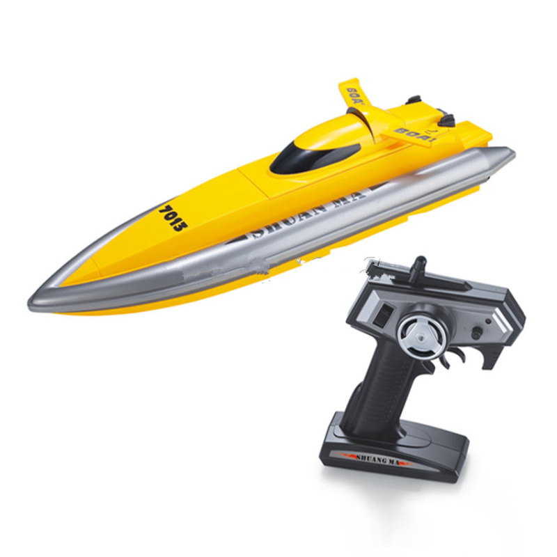 2.4G rc high speed boat 7013 remote control rc racing boat speedboat toy model Kids creative Toy educational toy best gifts toys high quality high speed rc boat 13000 6ch mini radio control simulation series rc nuclear racing submarine model kids best gifts