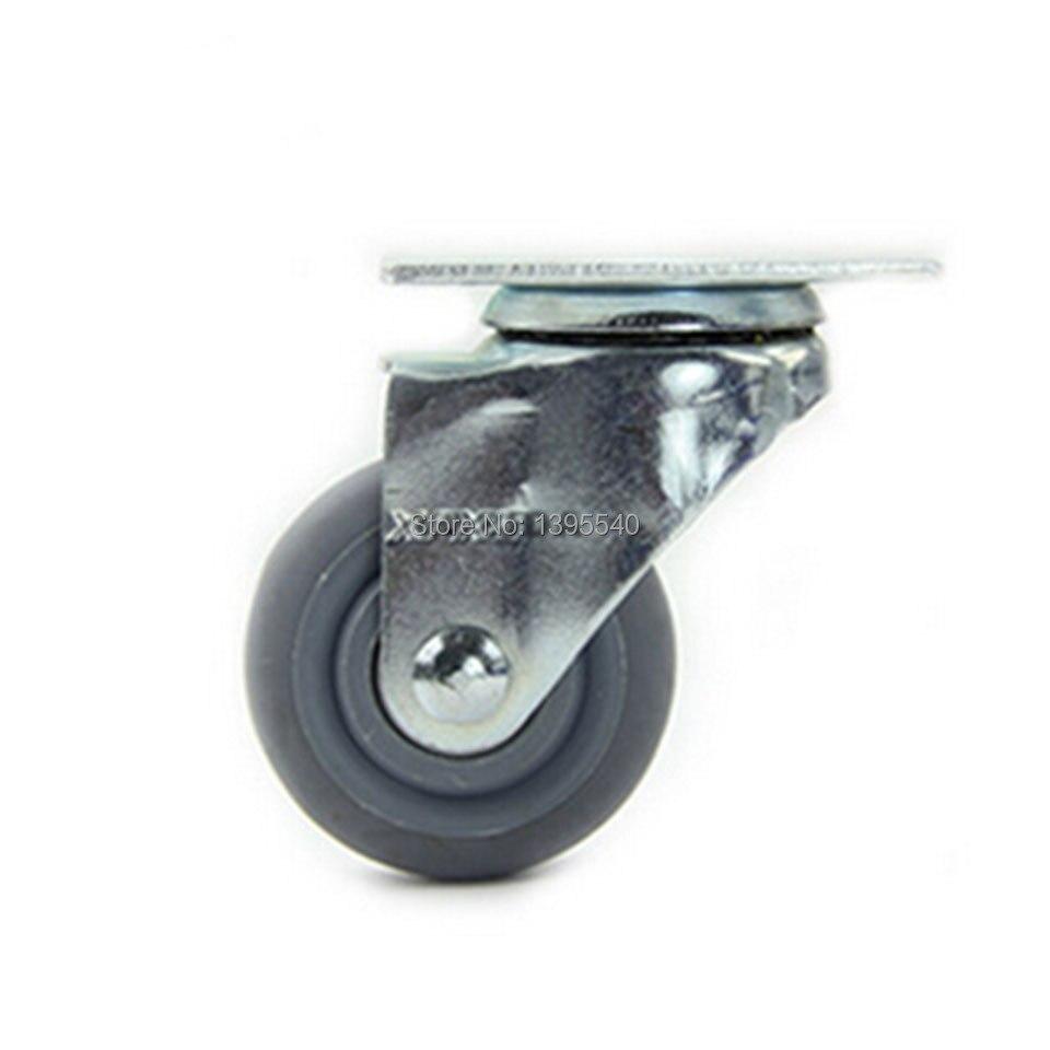 Новые 3 Поворотные Колеса МНЛЗ industral колеса Искусственная резина ролики 360 градусов тяжелый Колёсики Спецодежда медицинская ролики