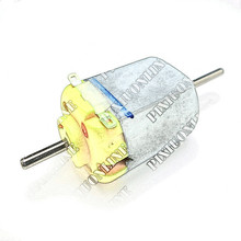 1pc J001b Double Shaft 130 Micro DC Motor for Science and Technology Making Free Shipping Russia Australia