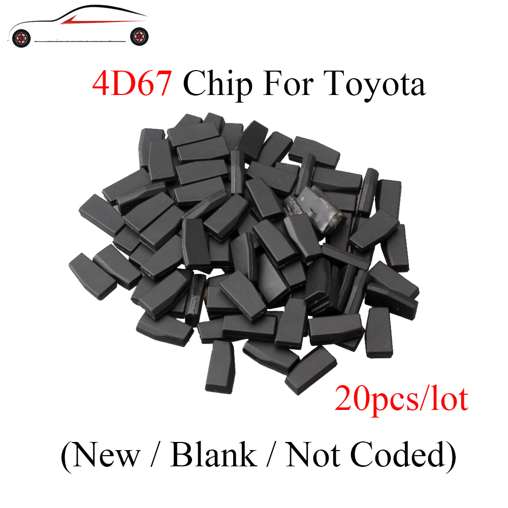 20pcs/lot 4D 67 ID67 Chip Remote Car key Transponder Chip 4D67 For Toyota Camry Corolla Rav4 ID 67 Chip For Lexus Free shipping-in Car Key from Automobiles & Motorcycles    1