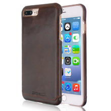 Pierre Cardin Luxury Genuine Leather Case for iPhone 7 8 7Plus 8Plus