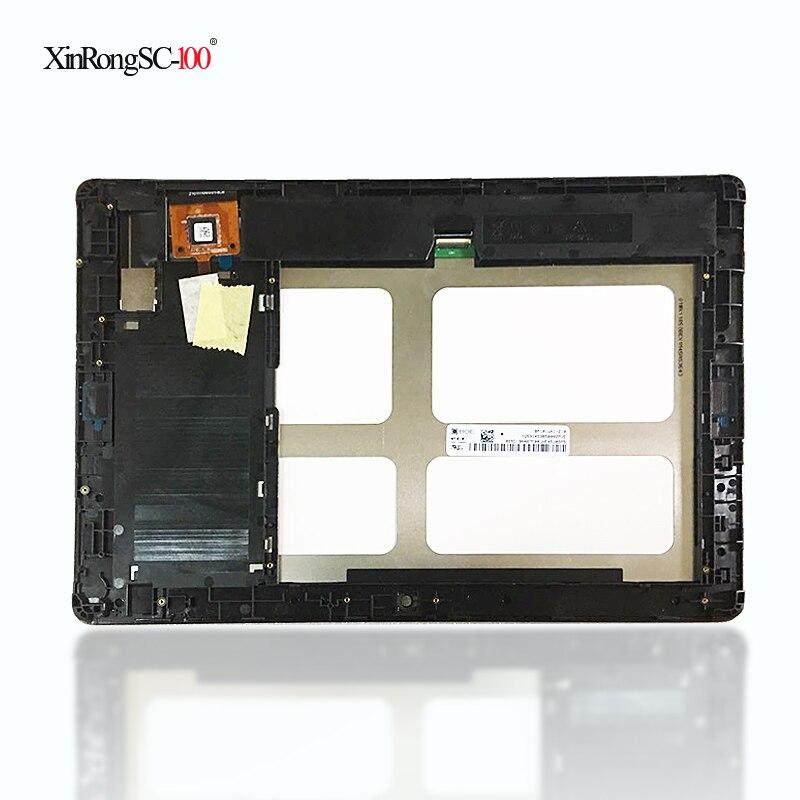 10.1 ''pouces Pour Lenovo Tab A10-70 A7600 A7600-F A7600-H A7600-HV B0474 lcd affichage à l'écran tactile avec cadre panneau en verre digitizer