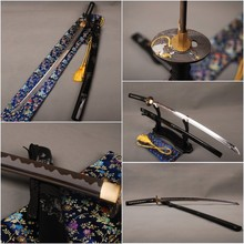 Special Offer Delicate Sharp Knife Home Metal Decoration Japanese Vintage Samurai Sword  1060 Carbon Steel Blade Katana