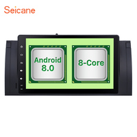 Seicane 9 1din 4GB RAM Android 8.0 Universal 8 core Car Radio Bluetooth GPS for Range Rover with WIFI BMW 5 Series BMW X5 E53