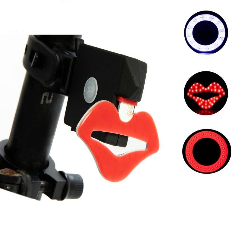 Waterproff Bike Bicycle Light USB 12Led Rechargeable Headlight Taillight Lamp UK